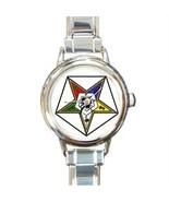 ORDER OF THE EASTERN STAR MASONIC CHARM WATCH -... - $23.99
