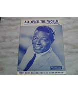 All Over the World Piano and Vocal Sheet Music ... - $5.99