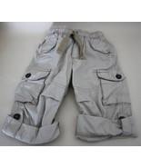 Oshgosh 2T Boys Khaki Cargo Pants that Roll up ... - $12.95