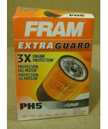 Fram PH5 Oil Filter 5 1/2in x 4in x 4in Metal - $11.39