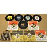 Bundle of 11 Miscellaneous 7in Vinyl Records De... - $22.49