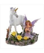Unicorn Horse and Fairy Statue - $13.00