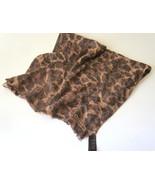 Coach Ocelot Leopard Animal Print Scarf Wrap Sh... - $130.50