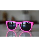 Neon Bright Pink Pink/ Rubber/Black/ Black Lenses - $4.75