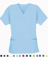 Women's Scrub Tops - Black - Size 2XL - New Scrubs - $7.99