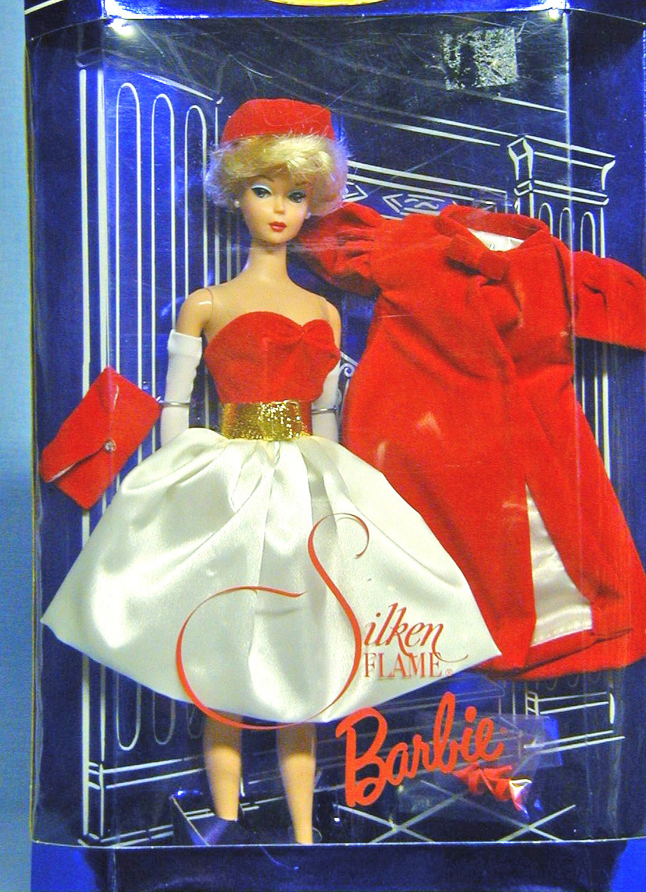 Barbie - Silken Flame Issue - New - a reproduction ensemble from the 60s