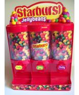 Starburst Jellybeans Candy Dispenser Three Sele... - $19.79