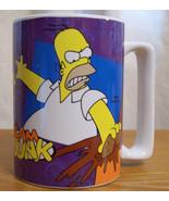 The Simpsons Homer  Simpson Large Coffee Mug  C... - $19.78