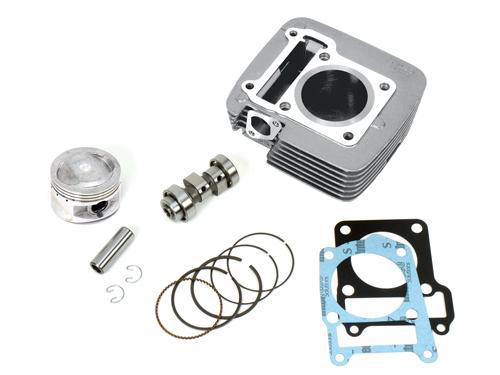 bbr big bore kit 150cc cylinder piston gaskets cam yamaha