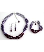 Purple Wedding Combo Colors Plum Purple Lilac M... - $27.68