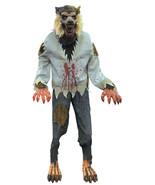 Animated Werewolf Lunging Lifesize Halloween Pr... - $287.09