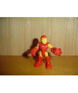 HASBRO MARVEL SUPER HERO SQUAD IRON MAN FIGURE A4 - $2.75