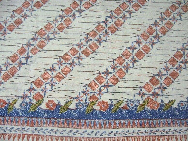 Antique Fabric - Batik Tulis / Hand Drawn Garutan Motif Rereng Pegat ...