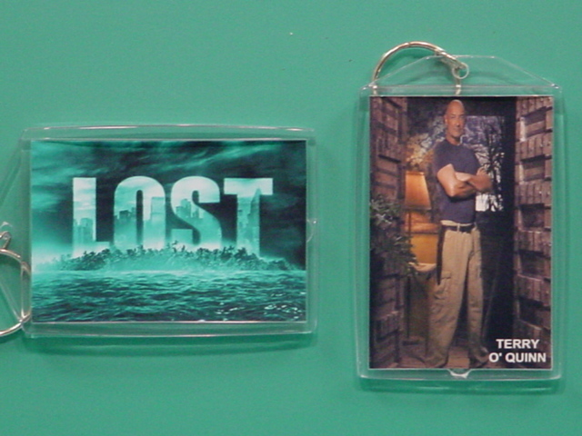 Terry O'Quinn Locke LOST TV Series 2 Photo Keychain 02