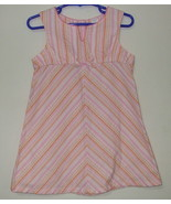 Girls Carters Sleeveless Multi Color Dress Size 3T - $5.50