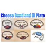 Custom Chainmaille Medical Alert Bracelet - $35.00