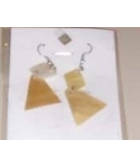 Handmade Dangling Shell Earrings NWOT - $5.49