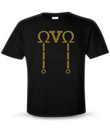 OVOXO DRAKE Fan T-shirt ovo xo metallic gold lo... - $14.75
