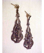 Gorgeous Vintage 1930's Marcasite and Sterling ... - $125.00