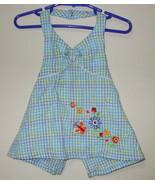 Girls Toddler Okie Dokie Blue White Halter Top ... - $4.00