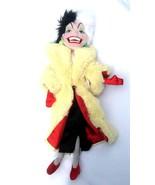 NWT Disney 101 Dalmatians Cruella De Vil Plush ... - $22.27