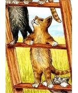 ACEO art print Cat #271 by L. Dumas - $4.99