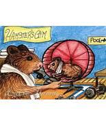 ACEO art print Hamster 5 Gym fantasy LE by L.Dumas - $4.99