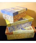 Box Set of 3 Rooster Nested Boxes 13
