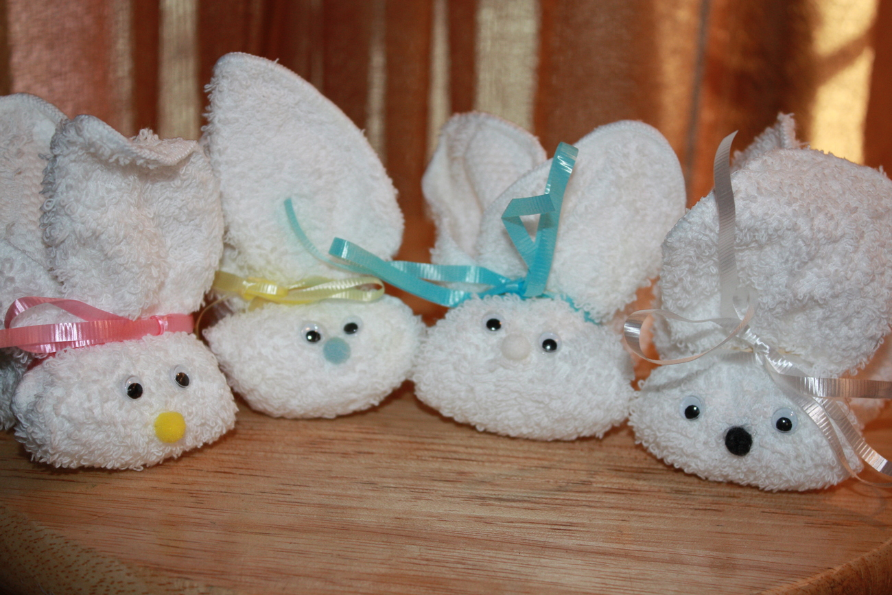 Bunny Boo Boo's  Hand Made Gift for Children NEW