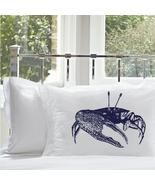 One Navy Blue Fiddler Crab Pillowcase pillow ca... - $15.98