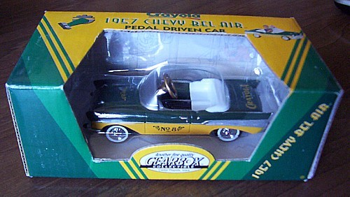 GEARBOX 1957 Chevrolet Bel Air CRAYOLA toy Pedal Car