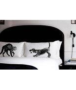 2 PILLOW fighting CAT vs DOG pillowcases fight ... - $28.98