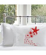 Two for 25 Red Shooting Starfish star fish Naut... - $24.98