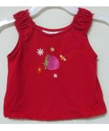 Girls Toddler Wonder Kids Red Sleeveless Top Si... - $4.00