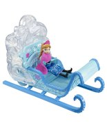 Frozen Disney Princess Swirling Snow Sleigh Veh... - $28.99