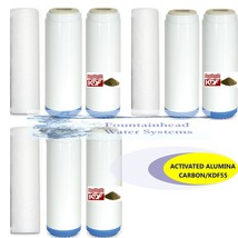 3 Sets Sediment/Fluoride/Arsenic/Carbon/Kdf Bacteriostatic Heavy Metals Filters - $92.07