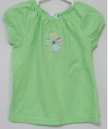 Girls Toddler Circo Green Short Sleeve Top Size 4T - $4.00
