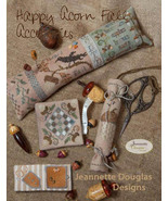 Happy Fall Accessories cross stitch chart Jeane... - $15.30