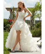 Darius Cordell #ER871 High-Low Wedding Dresses,... - $641.25