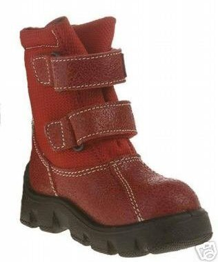 Naturino Infant Boys or Girls RED Rainstep Winter BOOTS 4 EUR 20 BRAND NEW NIB