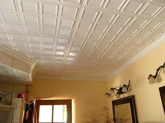 Easy to install ceiling tiles