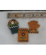 Package of 3 Resin Garden Items by Traditions f... - $1.99