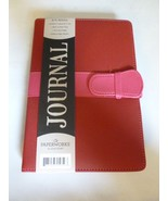 PAPERWORKS RED DELUXE PADDED LEATHERETTE STRAP ... - $19.99