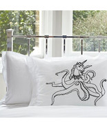 UNIPUS OCTOHORN Unicorn Octopus Nautical PILLOW... - $11.99
