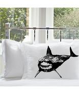 One (1) Black Great White Shark Standard Nautic... - $11.99