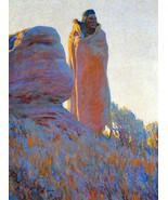 The Medicine Robe by Maynard Dixon Native Ameri... - $39.19