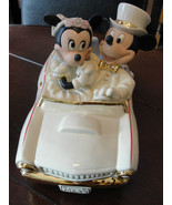 Disney Honeymoon Figurine Cake Topper - Mickey ... - $120.00
