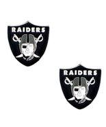 Oakland Raiders Licensed Stud Earrings - $8.48