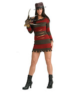 Sexy Miss Freddy Krueger Womens Halloween Costu... - $69.29