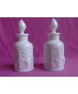 2 Westmoreland Paneled Grape Dresser Bottles - $35.00